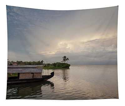 Backwaters Of Kerala Tapestry
