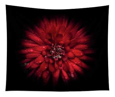 Backyard Flowers 45 Color Flow Version Tapestry