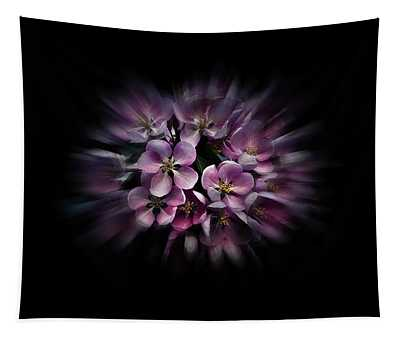 Backyard Flowers 47 Color Flow Version Tapestry