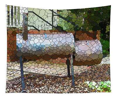 Backyard Grill 2 Tapestry