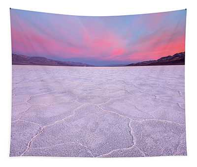 Badwater Basin Sunrise Tapestry