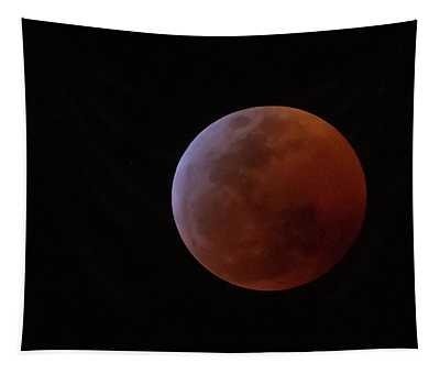 Bahamian Super Blood Wolf Moon Tapestry