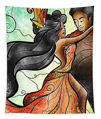 Bailar Conmigo Tapestry