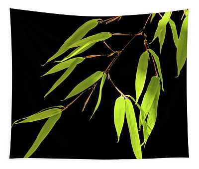 Bamboo Leaves 0580a Tapestry