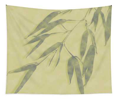 Bamboo Leaves 0580b Tapestry