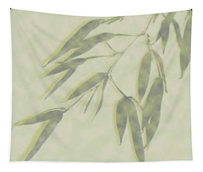 Bamboo Leaves 0580c Tapestry