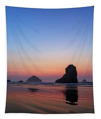 Bandon Face Rock Twilight Tapestry