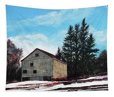 Barn Harlow, Ma Tapestry