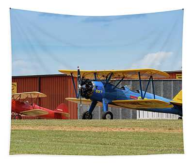 Barnstormers Workshop Tapestry