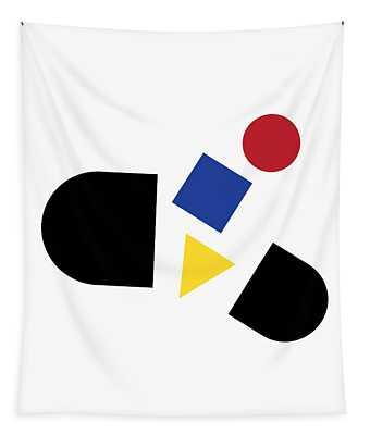 Bauhaus Pill 1 Tapestry