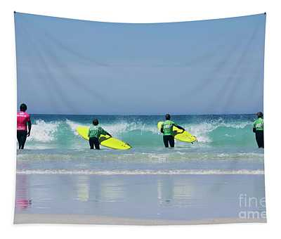Beach Boys Go Surfing Tapestry