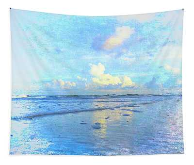 Beach Day Tapestry