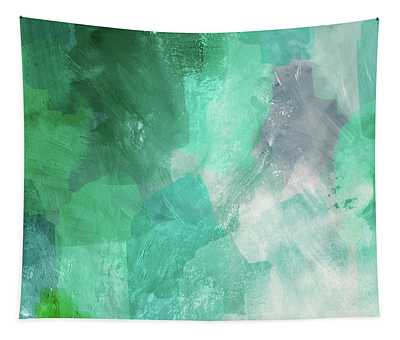 Beach Glass 3- Art By Linda Woods Tapestry