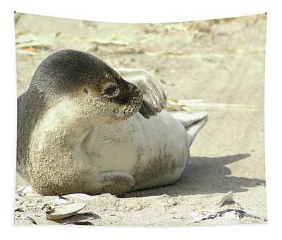 Beach Seal Tapestry