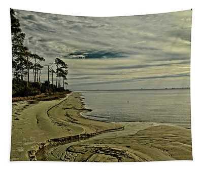 Beach Sunrise Tapestry