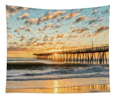 Beaching It Tapestry