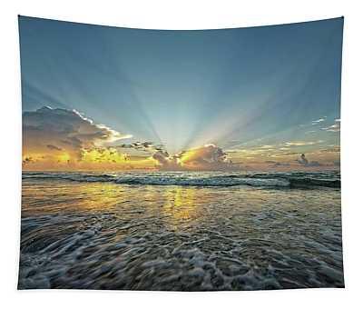 Beams Of Morning Light 2 Tapestry