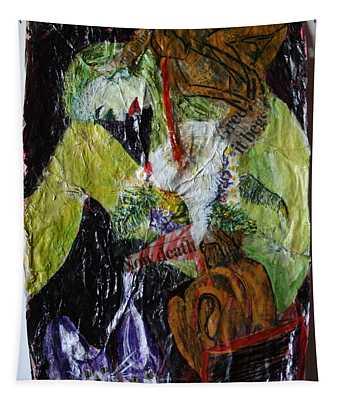 Beaten By A Monkey Tapestry