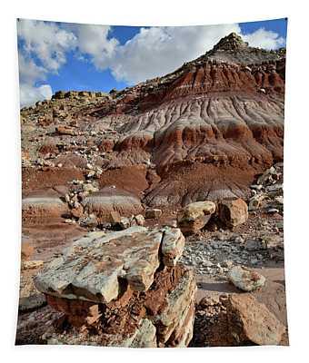 Beautiful Boulder And Dune In San Rafael Desert Tapestry