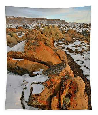 Beautiful Boulders At The Book Cliffs Tapestry