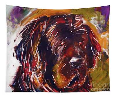 Beautiful Dog Painting  Tapestry