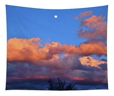 Beautiful Sunset Over Colorado Tapestry