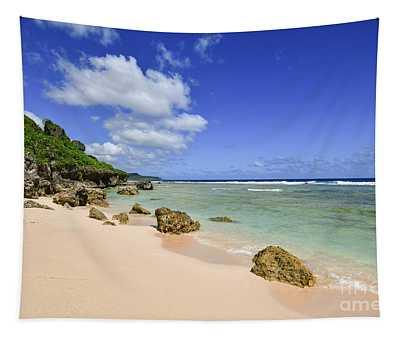 Beautiful Tagachang Beach  Tapestry