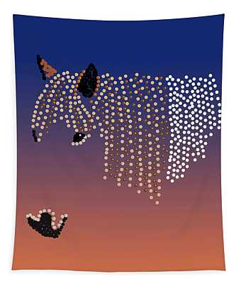Bedazzled Horse's Mane Tapestry