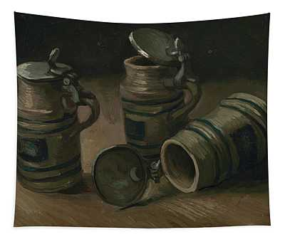 Beer Tankards Tapestry