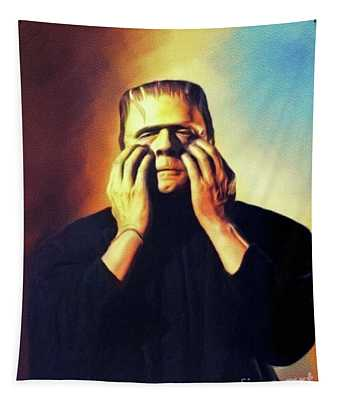 Bela Lugosi As Frankenstein Tapestry