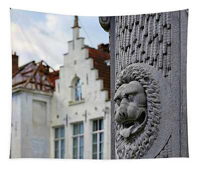 Belgian Coat Of Arms Tapestry