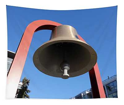 Bell At First Responder Plaza Tapestry
