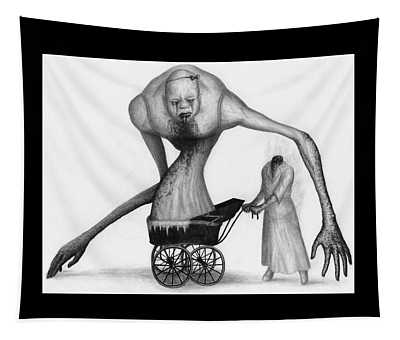 Bella The Nightmare Carriage Updated - Artwork Tapestry