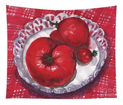 Bella Tomatoes Tapestry