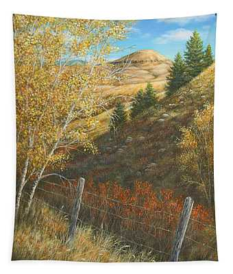 Belt Butte Autumn Tapestry