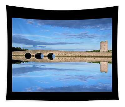 Belvelly Castle Reflection Tapestry
