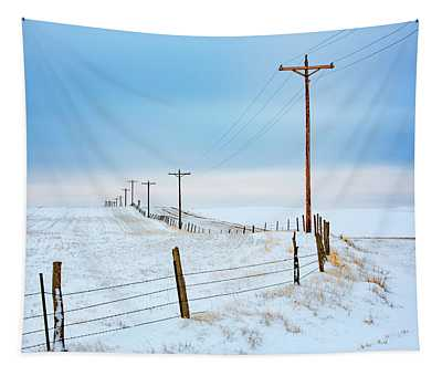 Bend In The Road Tapestry