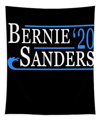 Bernie Sanders Blue Wave 2020 Tapestry