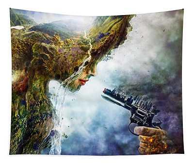 Politics Wall Tapestries