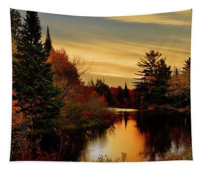 Betsy River Michigan Tapestry