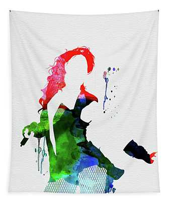 Beyonce Watercolor Tapestry
