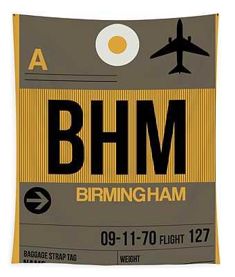 Bhm Birmingham Luggage Tag I Tapestry