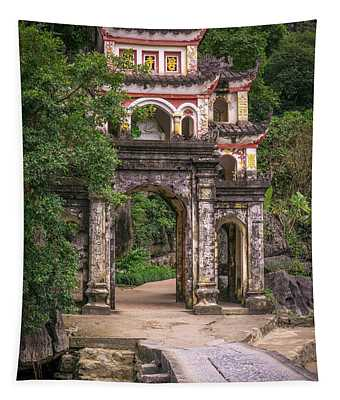 Bich Dong Pagoda Tam Coc Tapestry
