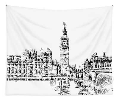 Big Ben Tapestry