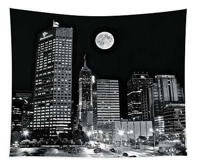 Big Moon Indianapolis 2019 Tapestry