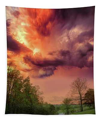 Big Sky Cades Cove Tennessee Tapestry