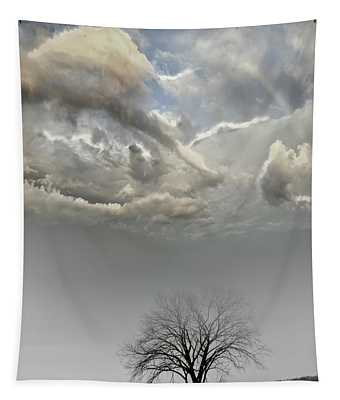 Big Sky One Tree Tapestry