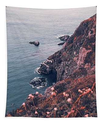Big Sur Cliffs Tapestry