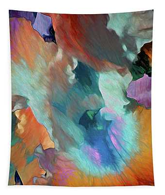 Billowing Grace 18 Tapestry
