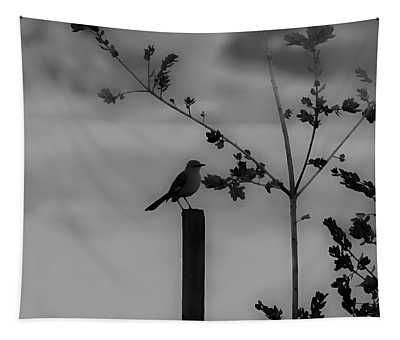 Bird On A Post Tapestry